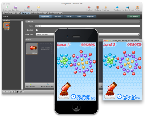 Screenshot showing previews